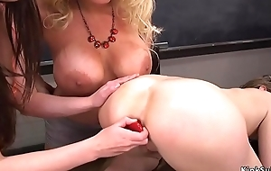 Hot students and professor anal fucking