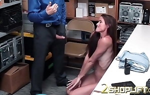 Hawt milf Sofie is demolished by horny officers loaded cock