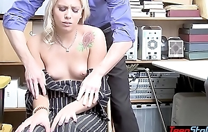 Shy dressy second-storey man got caught and now that babe has in all directions fuck