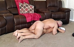 Alexis massages added to fucks her step brother