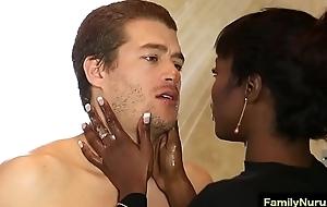 Erotic threesome massage with ebony hot wholesale