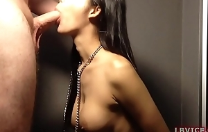 Ladyboy Pamela Blowjob and Bombed out of one's mind On