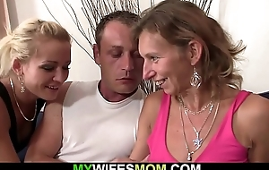 Hairy cookie mature mommy