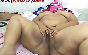Porn photograph be expeditious for fat Mexican Masturbating