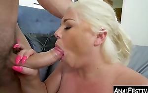 Phat ass Ashley Barbie taking beamy blarney slit penetration