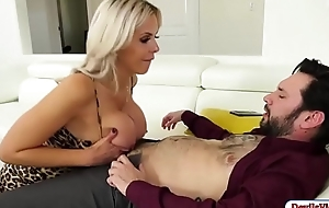 Slut milf copulates attorney and squirts
