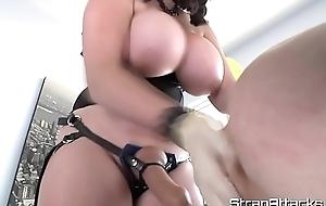Femdom newborn fingering her submissive