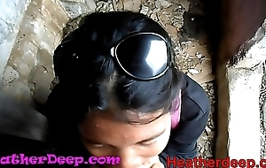 HD Heather Deep explores supreme moment in jungle with an increment of get creamthroat in depraved the Ladies'