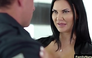 Big pest milf suck dick be advisable for say-so sponger during palpate