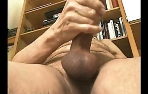 DutchcockXL jerking 20 cms, oftewel aftrekken forefront 20 cm lange lul