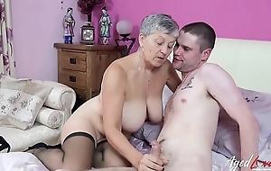 AgedLovE Full-grown Daughter Studio Fucks Horny Lover