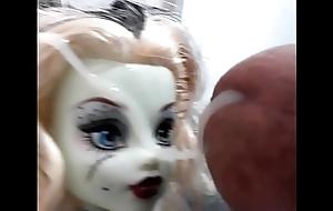 Cumshot doll
