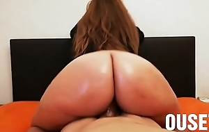 I lose one's heart to my wife'_s heavy oiled ass