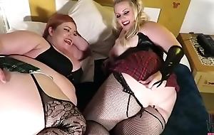 TEASER Double butt plug- Julieta Velezz &amp_ Mistress Squeamish