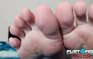 Flirt4Free Foot Fetish Compilation of Sexy Webcam Babes