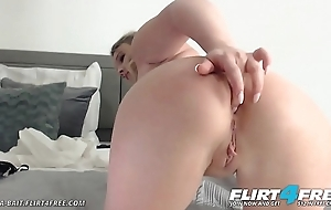 Gina Bait - Flirt4Free - Blue Tow-haired with Huge Tits and Big Perfect Ass
