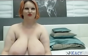 Of age Busty BBW In the air Huge Tits - KacyLive.com
