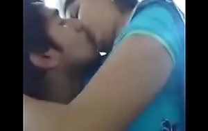 indian girl kissin passionately