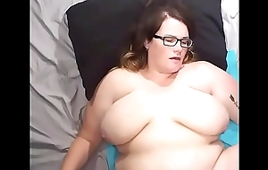 Bbw wife screwed and cum on face, breast and insides