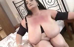 BBW with Big Special and Stockings Creampied
