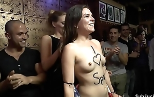 American slut new chum disgraces herself