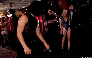 Anal sluts fixing up guests at bdsm party