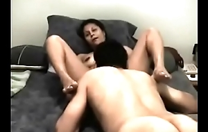 Sucking wife'_s love tunnel till she cums
