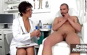 Dilute patient role step with hot lady Koko Margit