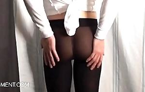 sissyformen blogger added to S4M Rasping XXX Pantyhose strip tease