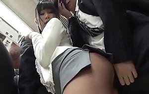Spectacular Oriental Teen Fucked On Train