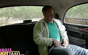 Female Fake Taxi Blonde belle copulates their way new chum