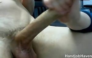 Wife giving my huge cock a workout till i cum