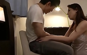 Japanese mom mot my hard dick